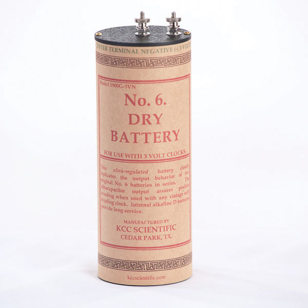1900G No. 6 Battery - Front