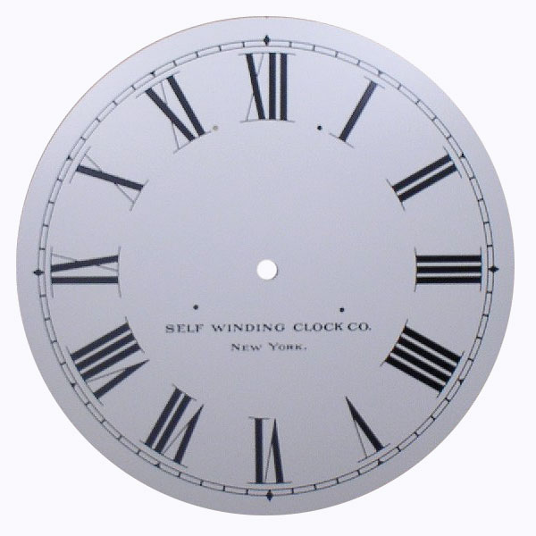 Self Winding Clock Co. Dial
