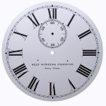 Self Winding Clock Co. Roman Numeral Dial WITH seconds bit.